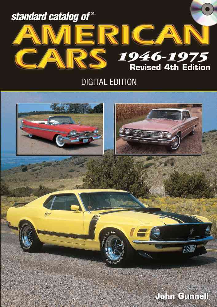 Standard Catalog of American Cars 1946-1975 By Gunnell, John